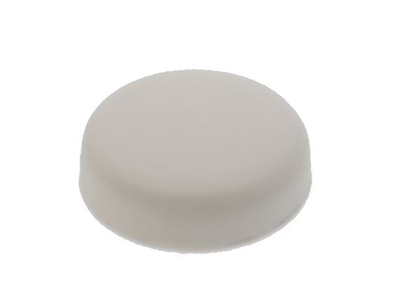 White Unicap Large Cap - 17mm product image