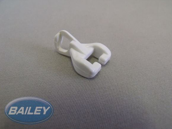 White Curtain Track Gliders product image