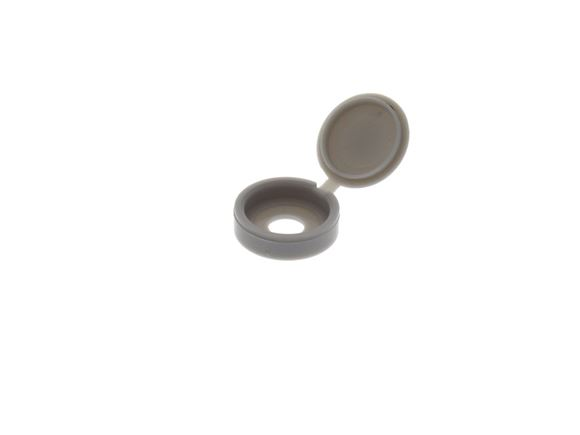 Grey Hinged Screw Cap Cover  product image