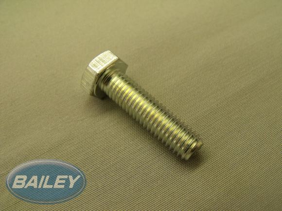 M8 X 30 Set screw zinc clear product image