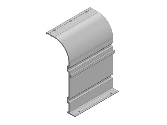 AH2 Narrow Awning Bracket White product image
