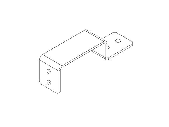AH2 21mm Timber Slat Support Bracket product image