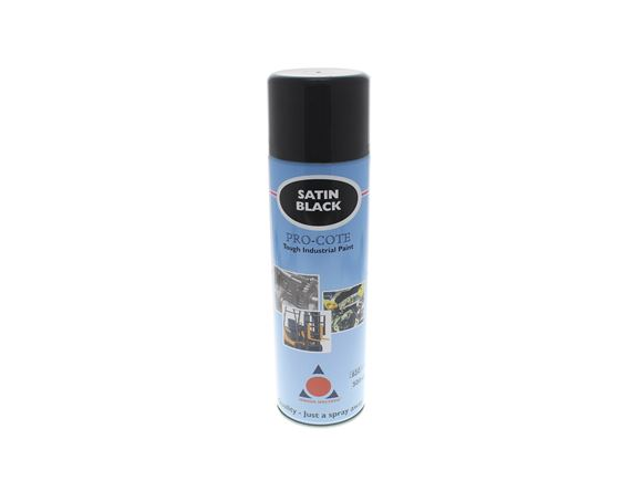 500ml Satin Black Spray Paint product image