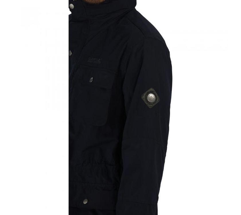 cebf60e20 Regatta Elwin Mens Waterproof Jacket Navy M | PRIMA Leisure