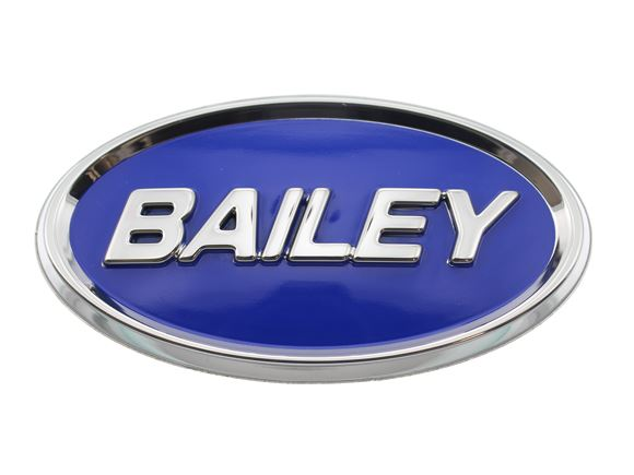 Self Adhesive 3D Plastic Bailey Oval 90x48mm product image