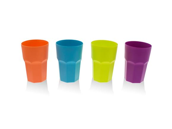 PRIMA 4pc Cup Set Medium - Multicolour product image