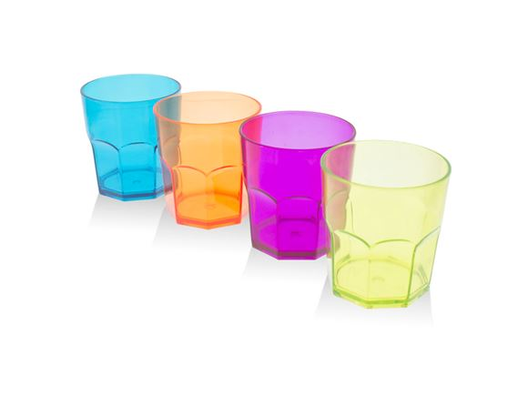 PRIMA 4pc Drinking Glass Set Medium - Multicolour product image