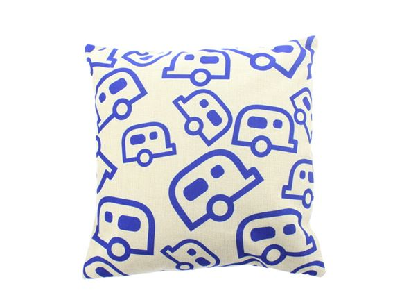 PRIMA Caravan Pattern Scatter Cushion 40x40cm product image