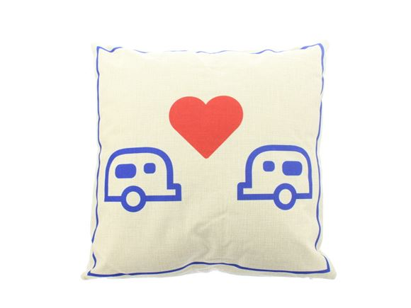 PRIMA I Love My Caravan Scatter Cushion 40x40cm product image