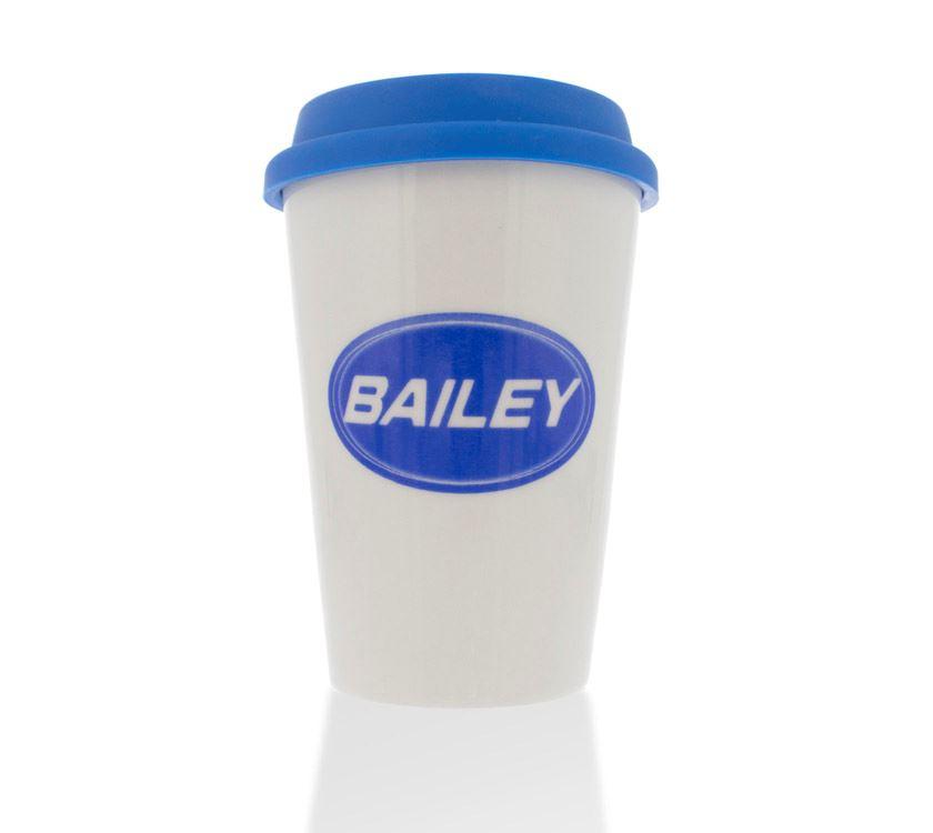 Bailey Ceramic Travel Mug With Silicone Lid Prima Leisure