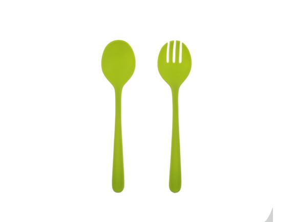 PRIMA Lightweight Salad Servers - Green product image