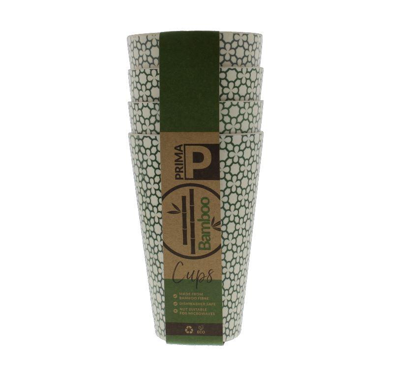 Bamboo Tumbler Cup Set - Green Clover | PRIMA Leisure