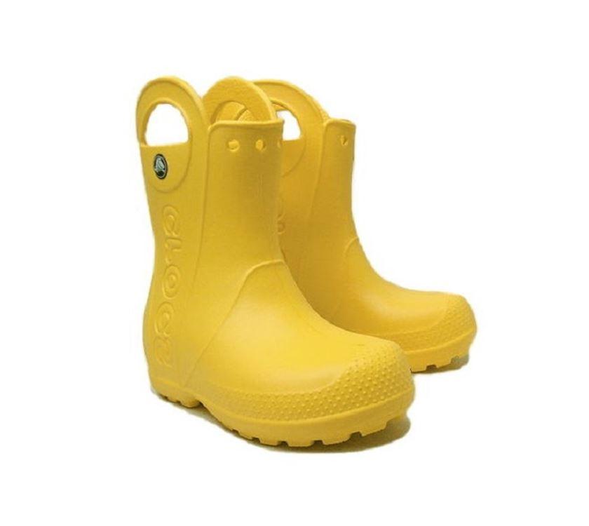 47370aaac40bfa Crocs Handle It Rain Boot Kids Yellow C8