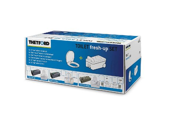 Thetford C400 Toilet Fresh Up Kit product image
