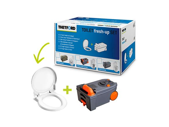 Thetford C250 / C260 Toilet Fresh Up Kit product image
