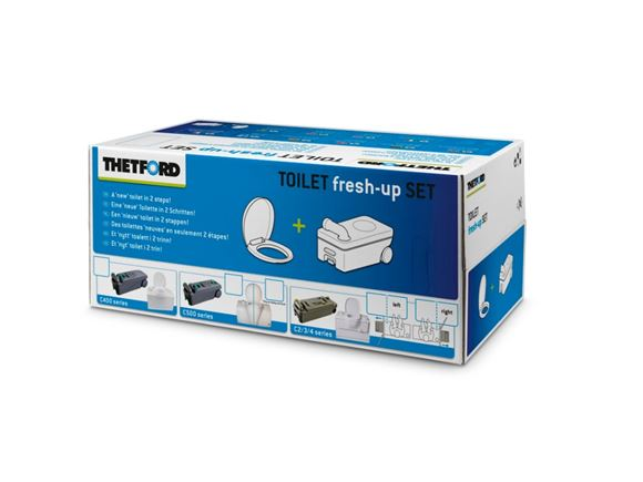 Thetford C2 C3 C4 Toilet Fresh Up Kit L/H product image