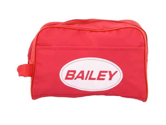 Read more about Bailey Red Unisex Cosmetic Wash Bag product image