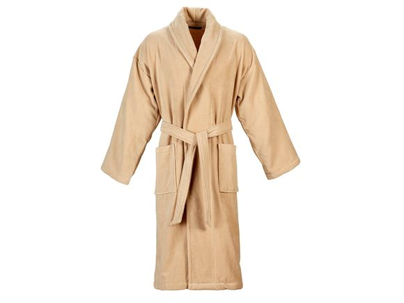 Christy Supreme Velour Bathrobe Size M - Stone product image