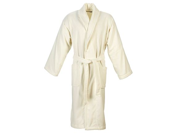 Christy Supreme Velour Bathrobe Size XL - Almond product image