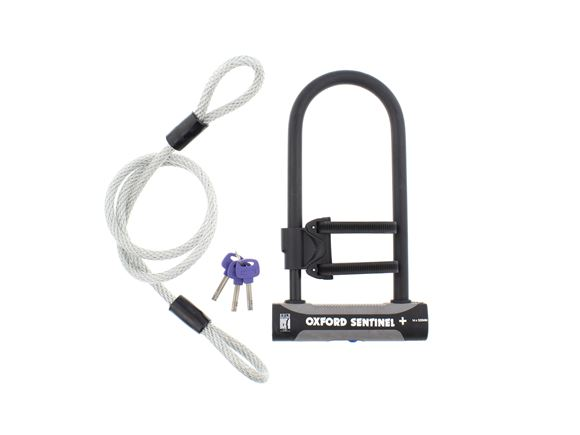 Oxford Cycle Sentinel Shackle Lock Duo product image