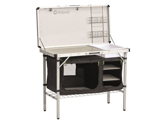 Outwell Drayton Kitchen Station w/ Table Top Fold product image