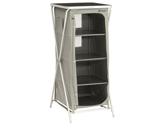Outwell Bermuda Tall Folding Camping Storage Unit product image