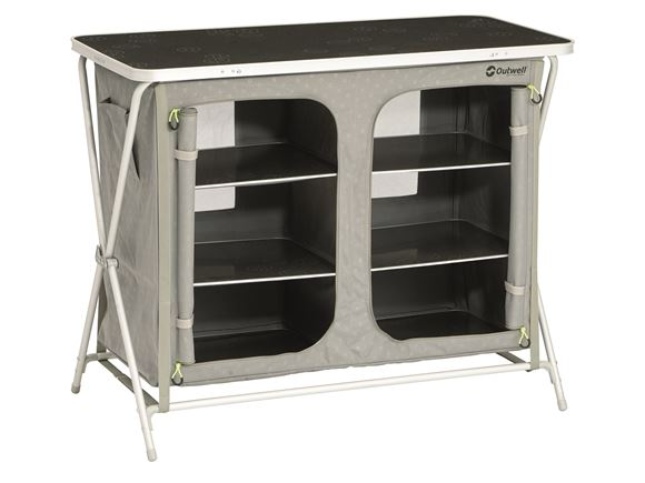 Outwell Aruba Folding Camping Cupboard w/ Shelves product image