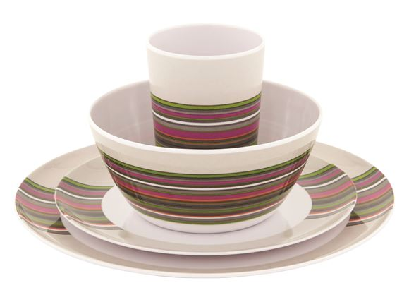 Outwell Blossom Picnic Set 4 Persons Magnolia Red product image