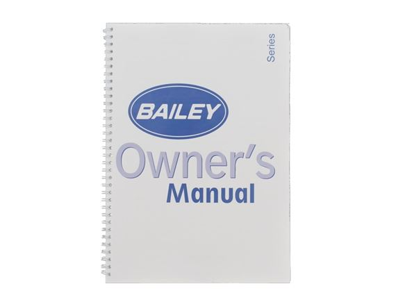 2003 Bailey Handbook product image