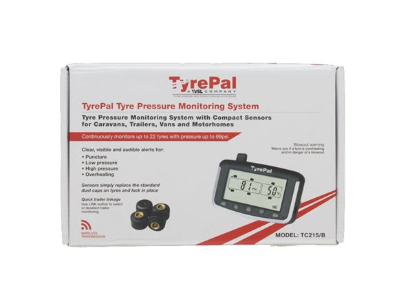 TyrePal TC215B/6 Tyre Pressure Monitor System product image