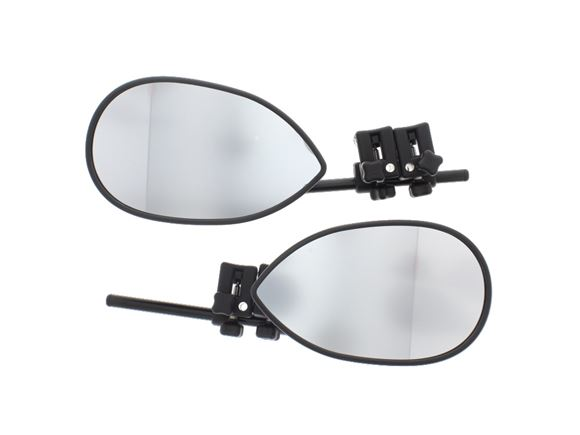 Milenco Towing Mirror Flat (Pair) c/w Carry Case product image