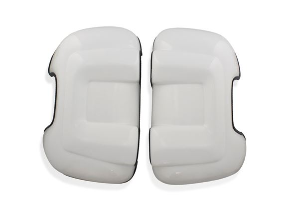 Motorhome Long Arm Mirror Protectors White (Pair) product image