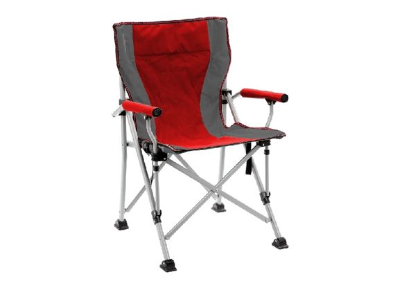 Brunner Raptor Folding Chair Red/Grey product image