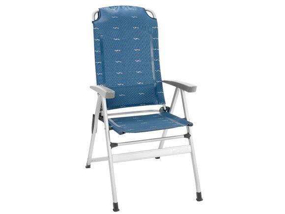 Brunner Kerry Slim Aluminium Recliner Blue product image