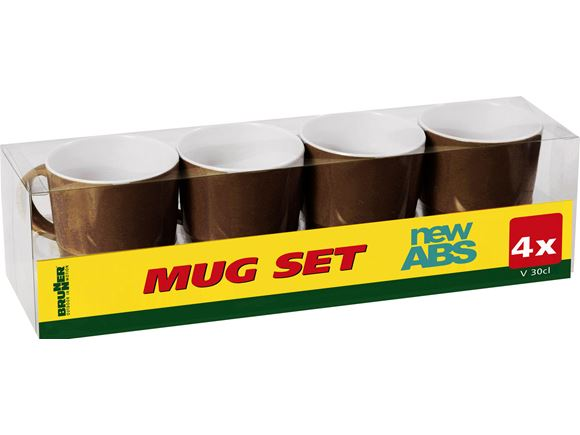 Brunner Chocolate ABS Mug Set product image