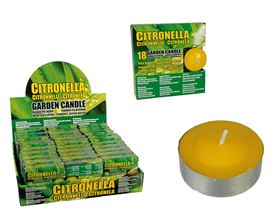 Set of 18 Citronella Tealight Candles product image