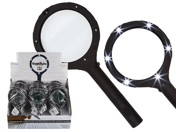 Magnifying Glass w/ 6 LED's product image