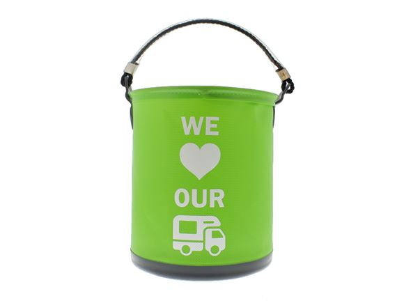 Colapz Bucket - We Love Our Motorhome - Green product image