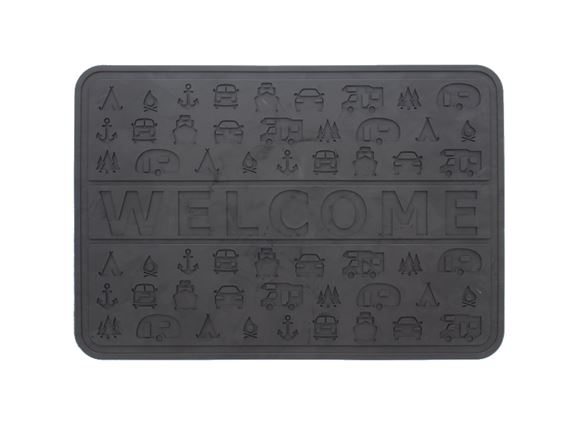 Rubber Welcome Mat product image