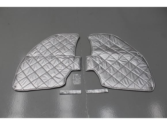 App Advance Cab Side Window Silver Covers Pair product image