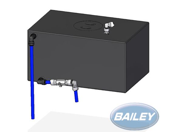 Unicorn III Twin Axle Water Tank Kit product image