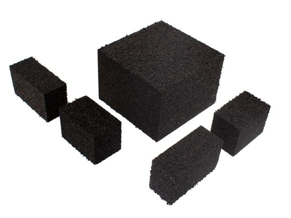 Unicorn II Bumpers Fixing Blocks Set Black EPP product image