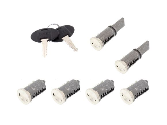 WD Lock 6 Set (2 Long Tail & 4 Short Tail) product image
