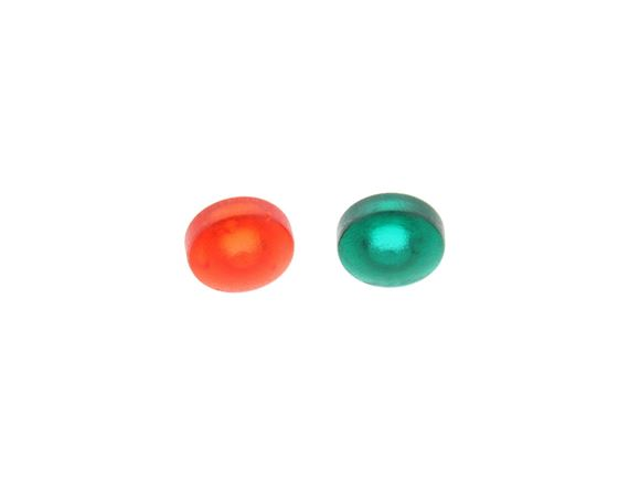 Hartal Ext Door Lock Red & Green Screw Cover(Pair) product image