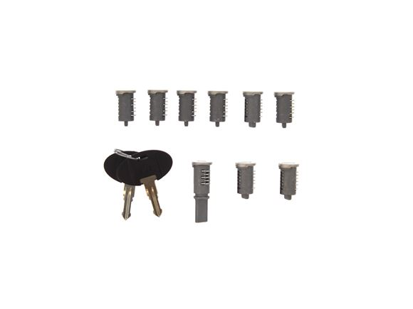 WD Lock 9 Set (1 Long Tail & 8 Short Tail) product image