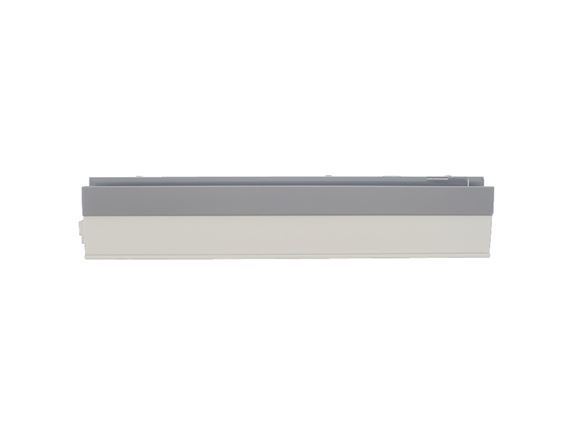 UN4 R/H Plastic Drawer Side 430 mm Grey/White product image