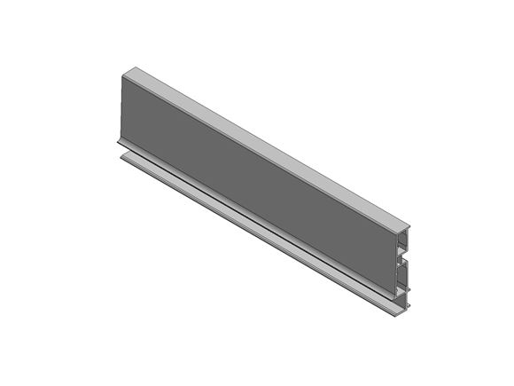 UN4 Car/Vig Plastic Drawer Rear 330 mm White product image