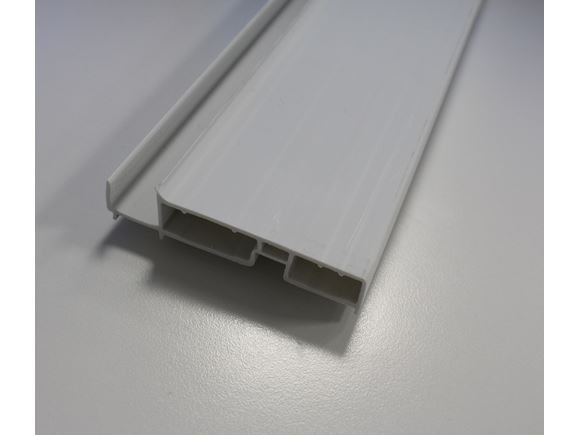 PS6 Plastic Drawer Rear 738 mm White product image