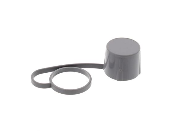28mm Waste Drain Tap Cap Only Grey product image