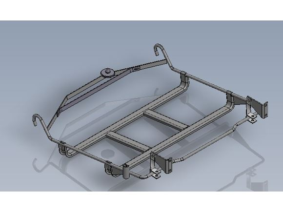 AH2 AL-KO INTEGRATED SPARE WHEEL CARRIER product image